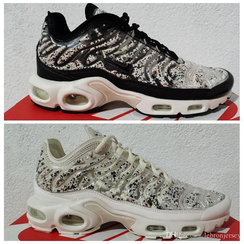 2020 Tn Além disso Se Mens Running Shoes Triplo Black White Multi-color Sports Designer Sneakers Tamanho 40-46