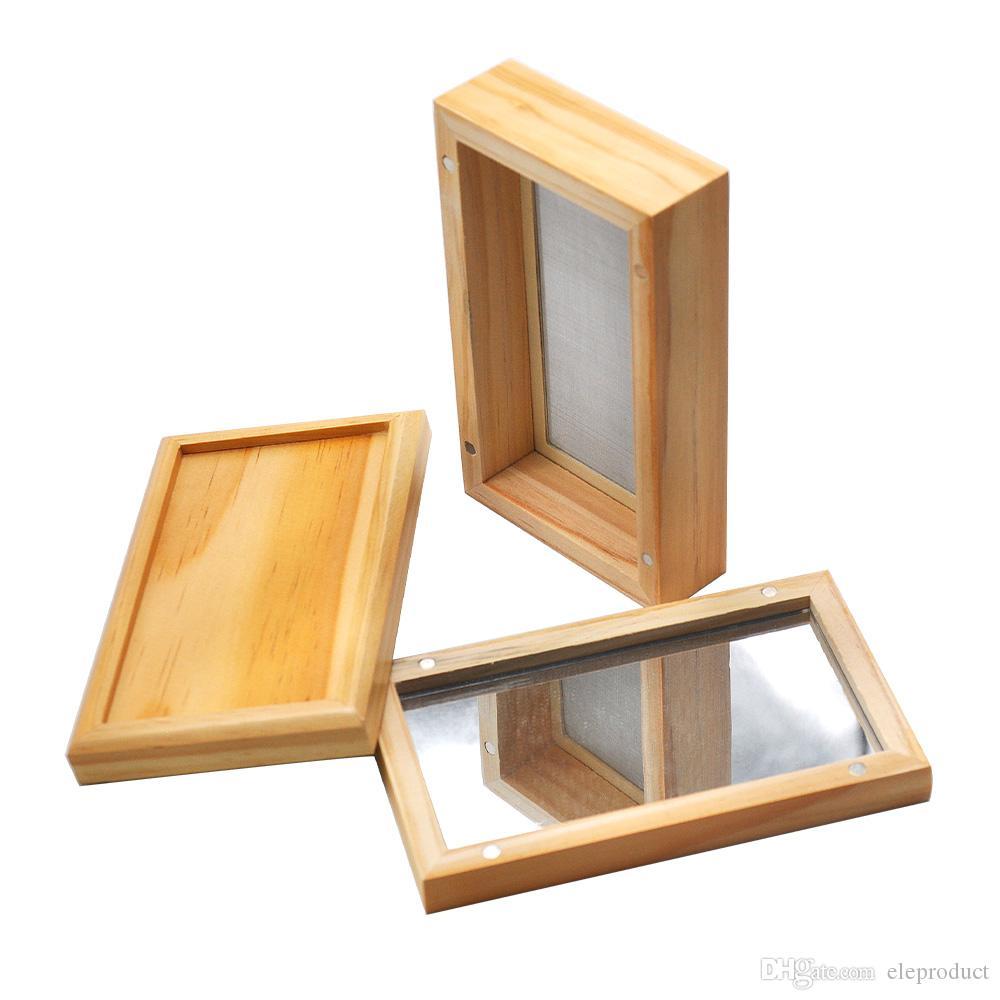 Caso de armazenamento de madeira Stash Box Para Tubulação de fumo Acessórios de bambu de armazenamento de tabaco Cans DHL grátis