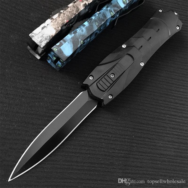 Usine gros BM3300 A07 162 Couteaux pliants 4 style 440 lame en acier ABS Poignée avec détail boîte Camping couteau Couteau Survie couteau outils