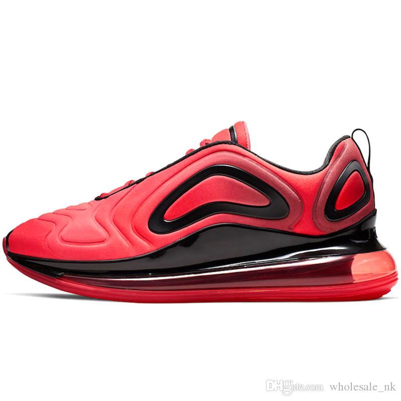 Großhandel Nike Air Max 720 Airmax 270 Hochwertige Laufschuhe Für Herren Pride GREEN CARBON Volt Triple Weiß Schwarz Crimson Gold Red Damen Sport