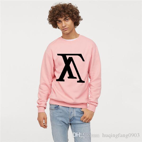 Nueva llegada de los hombres de las mujeres de lana de moda chaquetas Sudaderas de cuello redondo unisex cálido abrigo informal G7224608