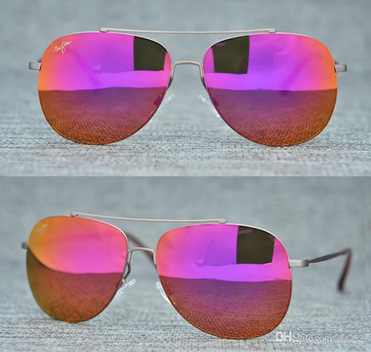 Fabrik-Preis MAUlJlM- 789 Sport Reiten polarisierte Ok Sonnenbrille Männer Frauen Top-Qualität Metallrahmen Angeln Sunglass mit Fall