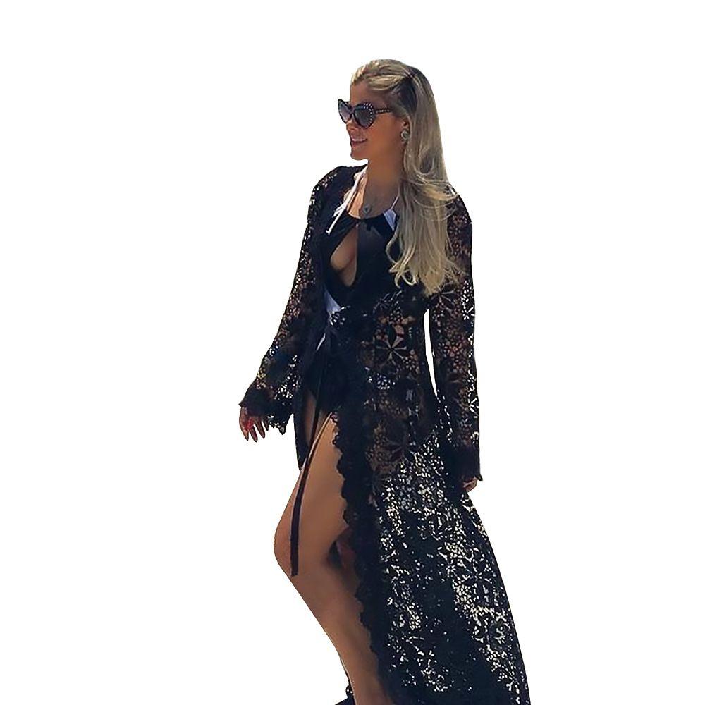 Women Lingerie Underwear Lace Dress Babydoll Sleepwear Hollow Dress Robe