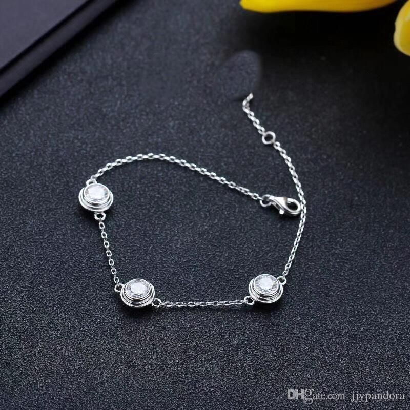 2019 топ дизайн браслет высокое качество оригинальный стерлингового серебра 925 пробы с культовым дизайном винта и элегантный стиль, чтобы засвидетельствовать вашу идеальную любовь