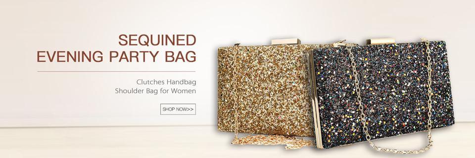 Brand Fashion Clutch Bag Apricot Silk Women Evening Party Clutches Handbags Blue Baguette Black Hasp Shoulder Bags
