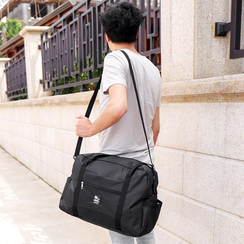 32L Large Capacity Luggage Bag Shoulder Bag Oxford Cloth Travel Trolley Luggage Bag Hand Bags Clothes Storage Pouch Organizer Bags VT0691