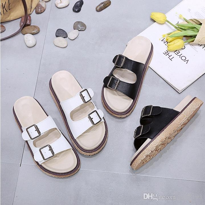 Diseñador de la mujer sandalias de diseño toboganes sandalias de lujo plataforma sandalias verano zapatillas de mujer de alta calidad con caja