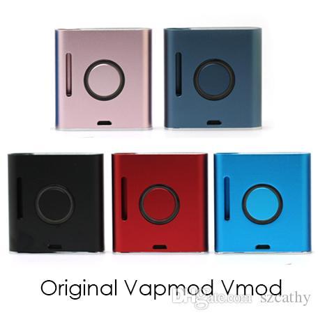 Аутентичные Vapmod Vmod Батарея Электронная сигарета Vape Mods Предварительный нагрев VV Battery Fit 510 Картриджи Масляные тележки