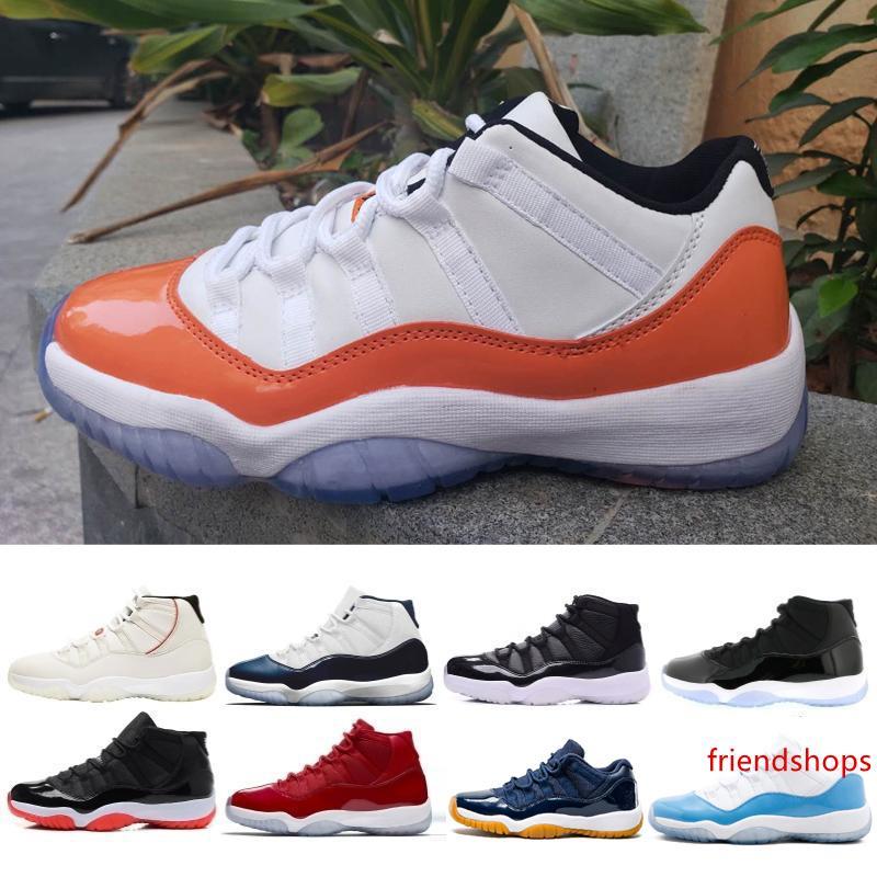 Concord Yüksek 45 11 XI 11'leri Şapkanız PRM Heiress Gym Chicago Platin Ton Space Jam Erkek Basketbol Ayakkabı spor Spor ayakkabılar