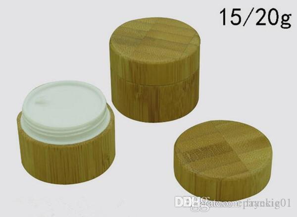 15g 20g contenedor de cera de bambú tarro Contenedores de cera antiadherente caja de silicona contenedor de grado alimenticio recipiente para aceite de almacenamiento de herramientas