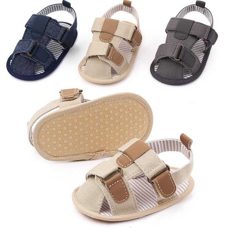 الصيف Newst طفل رضيع صندل الأخفاف بنين الأطفال 3 نمط الأزياء الصنادل أحذية الرضع أحذية 0-12 شهر الطفل الصنادل