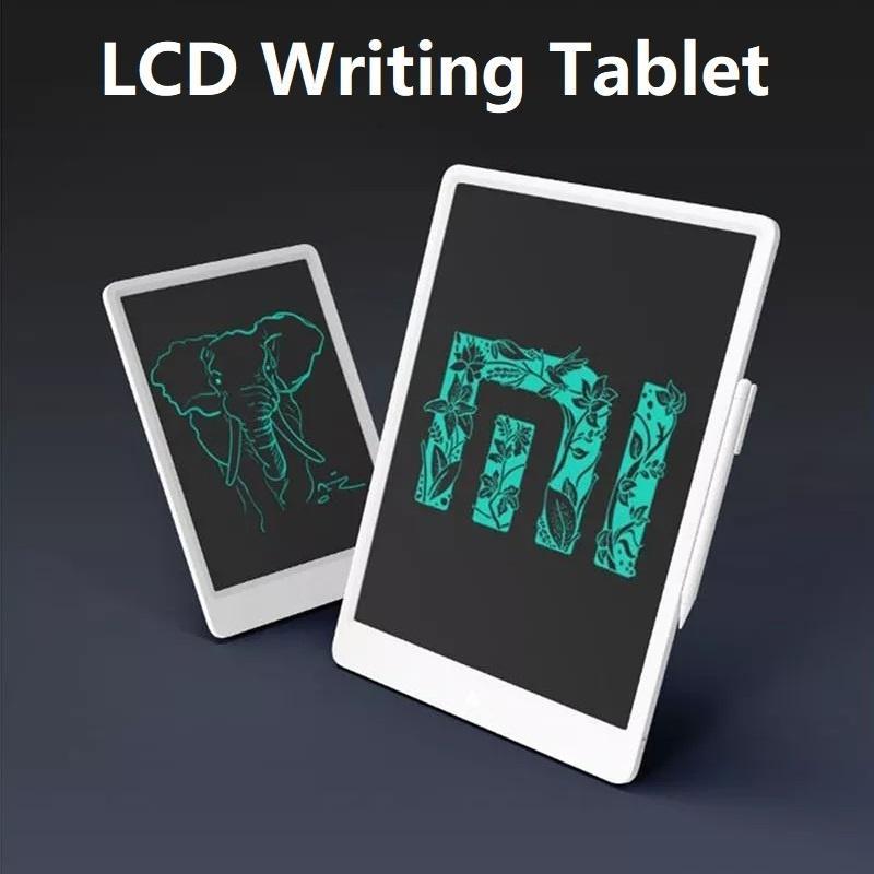 Aprendizaje Oficina LCD escritura tableta con pluma Digital dibujo electrónico escritura Pad mensaje gráficos tablero Oficina mensaje tablero