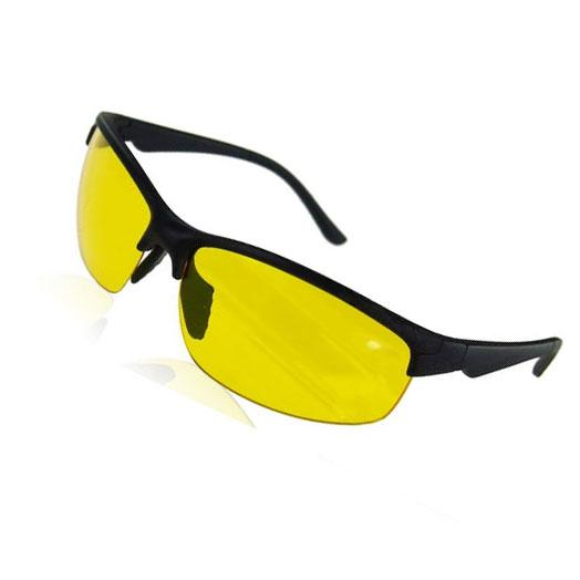 Men's Night vision Driving Sunglasses ladies or Men Yellow lenses peripheral glasses dark driving goggles anti-glare send box free shipping