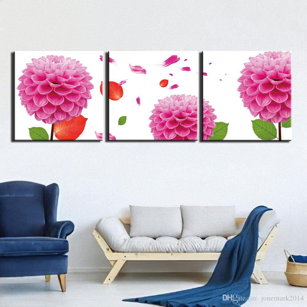 Hydrangea Canvas Art Painting Unframed Poster Picture Wall Home Decor Gift
