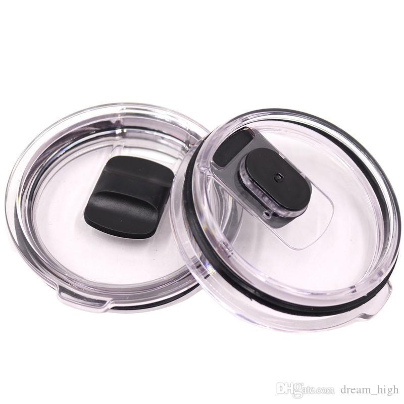 Remplacement magnétique en plastique Couvercles Joint Leakproof résistant aux éclaboussures Bouchon pour 30 oz 20 oz en acier inoxydable Vaccum Tasses couvercle