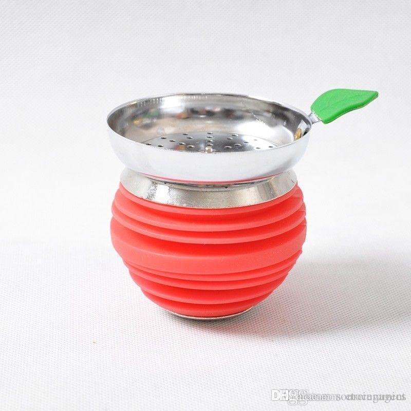 Shisha Silicone bacia Hookah a Apple Cup Bandeja resistente ao calor Smoking Water Pipe