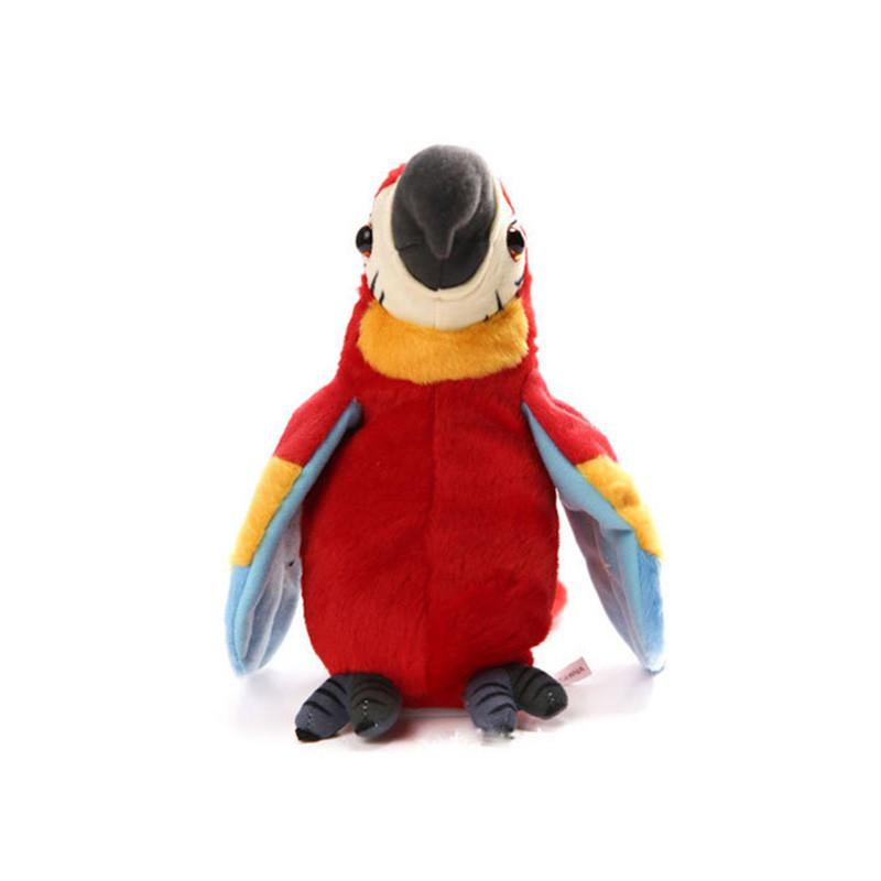 Cute Parrot Electric Plush Toy Children Learning Machine Children's Educational Toys Learning Toys Electric plush toys