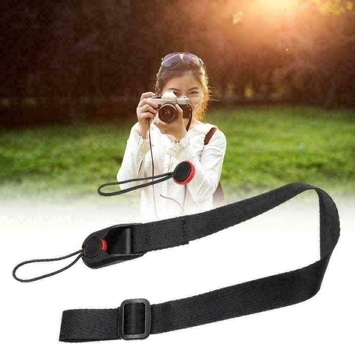 Quick Release Leash Wrist Belt Shoulder Strap Sling with ABS Buckle for DSLR Camera JHP-Best