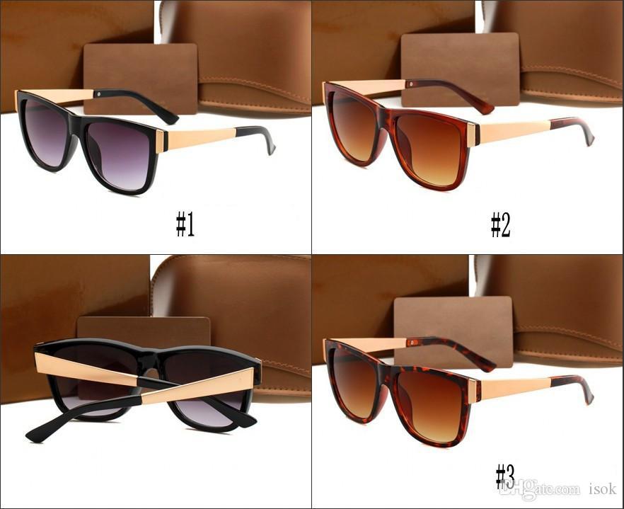 10 개, 3718 선글라스 브랜드 디자이너 여성 남성 클래식 스타일 큰 프레임 태양 안경 여성 남성 운전 고글 거울 안경 도매