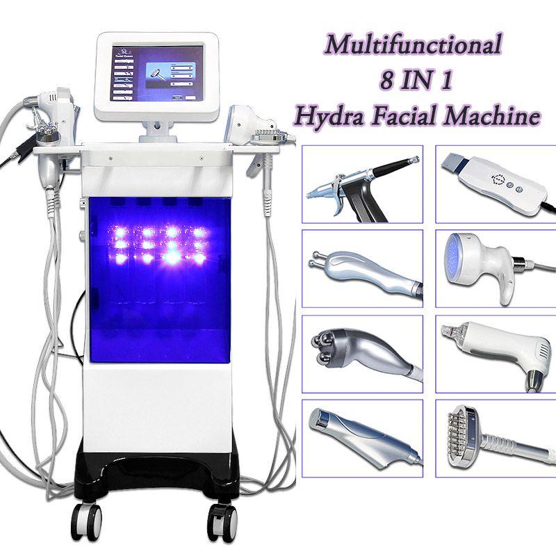 Hydro Facial Aqua Peeling Machine Acne Scrubber Skin Exfoliator