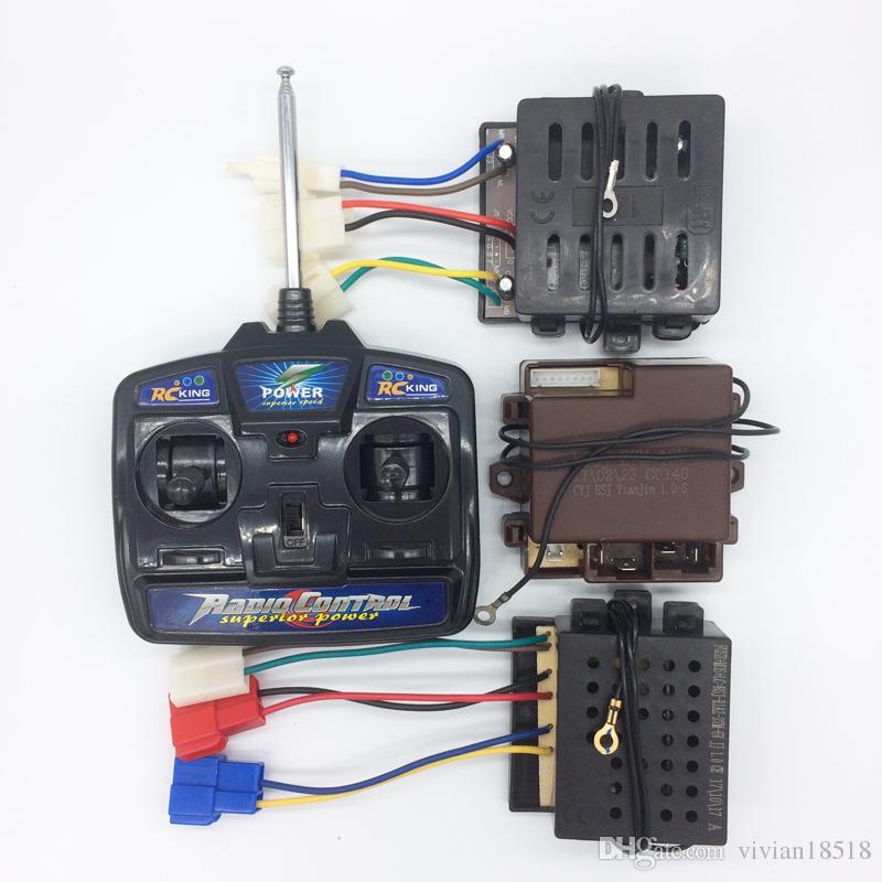 Enfants Voiture électrique 27 MHz Radio Control Universal contrôle radio et récepteur Jouet Voiture Contrôle Radio émetteur