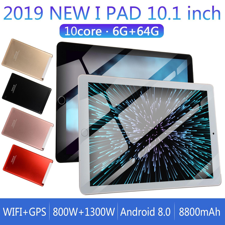 2019 안드로이드 태블릿 PC의 3G WCDMA 1280 * 800 10.1 인치 IPS 디스플레이 MTK6797 2.0MP 카메라 세대 64G 4000MAH GPS FM 와이파이 블루투스