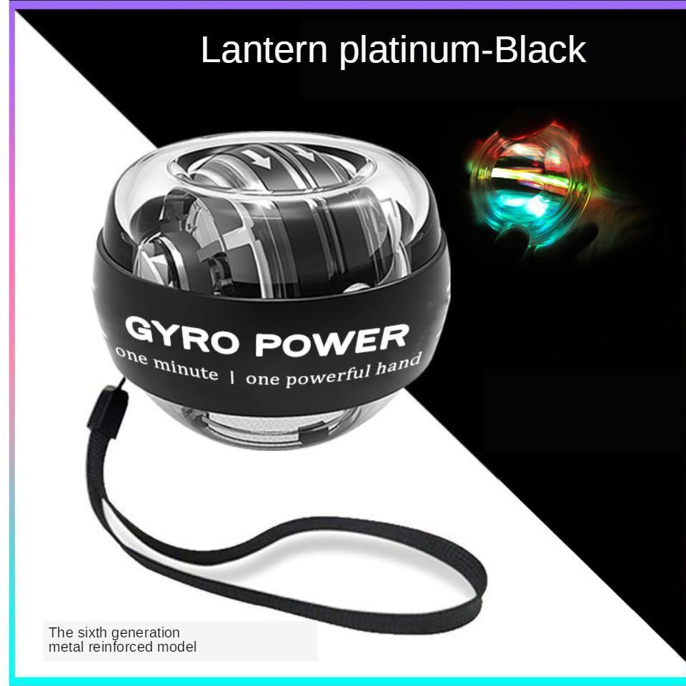 Luz LED de arranque automático bola de la fuerza muscular muñeca de mano de la energía bola Relax Spinning muñeca Trainer Aparatos para hacer ejercicio fortalecedor Y200506