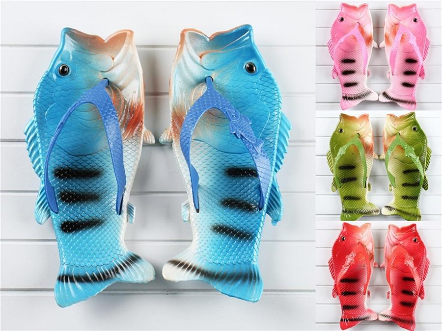 2020 Sommer-beiläufige Kind-Strand-Fisch-Hausschuhe für Jungen Baby-Fische Hausschuhe Kleinkind 1-6 Jahre alte Mode Größe 21-30 # 551
