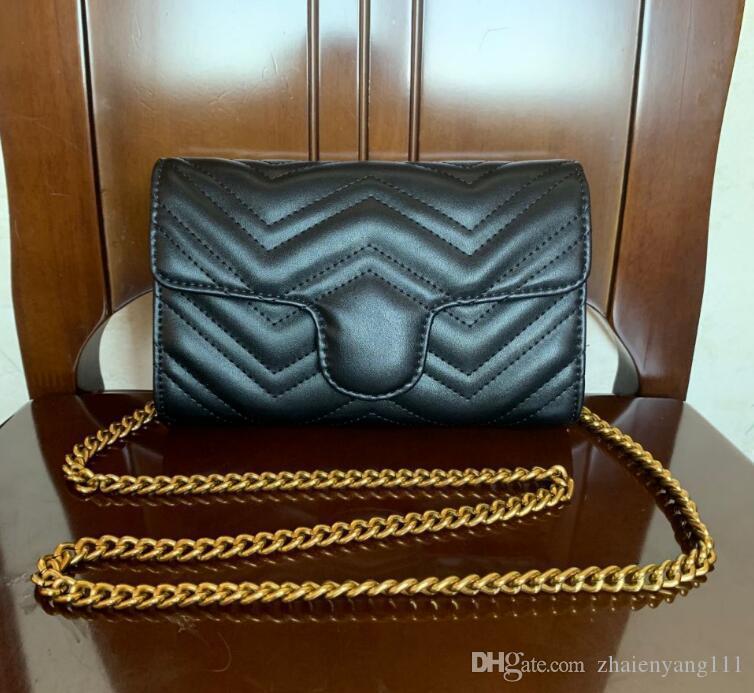 Factory wholesale 2019 new women's bag all kinds of brand fashion chain bag shoulder Messenger bag handbag 868