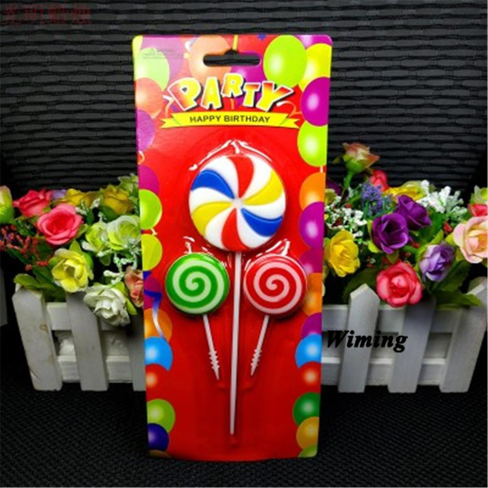Candle Decoration Ideas For Birthday from www.dhresource.com