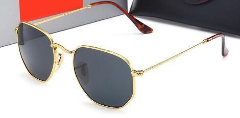 Gafas de lujo y gafas de sol de conducción con gafas de sol Colorido nuevo caso hombre diseñador gafas de sol gafas de glass para hombre de lujo-marca de lujo L5745 HCBVL
