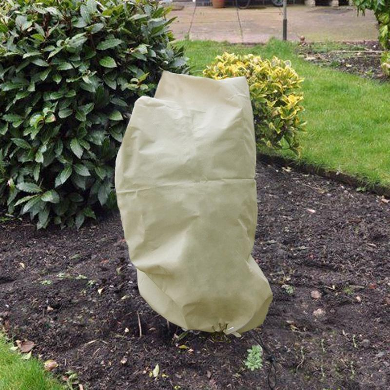 Plant Tree Windproof Cover Protection Warm for Outdoor Winter Cold Weather J2Y
