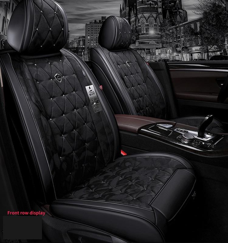 Universal Fit Car Acessórios Interior Seat Covers para carros frete grátis Top Quality Couro Durable cinco assentos Truck SUV Sudão ZFL002