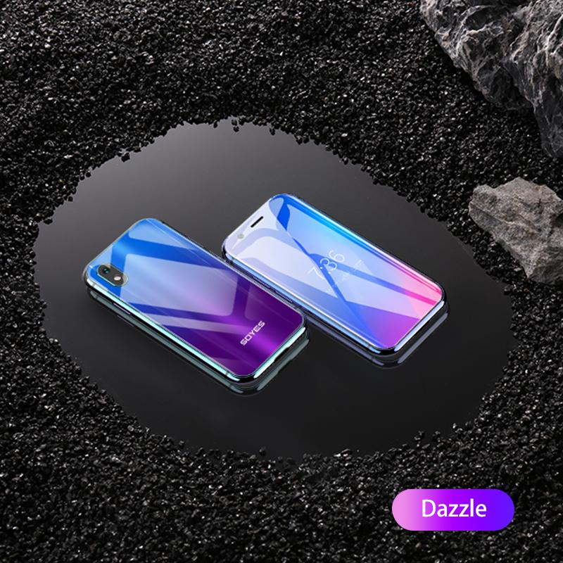 Originais XS 3'' Mini Smartphone android cellulare 3GB+32GB 2GB+16B 1580mAh 4G Wifi Glass Body Backup smart celular PK 7S Melrose K15 S9Plus