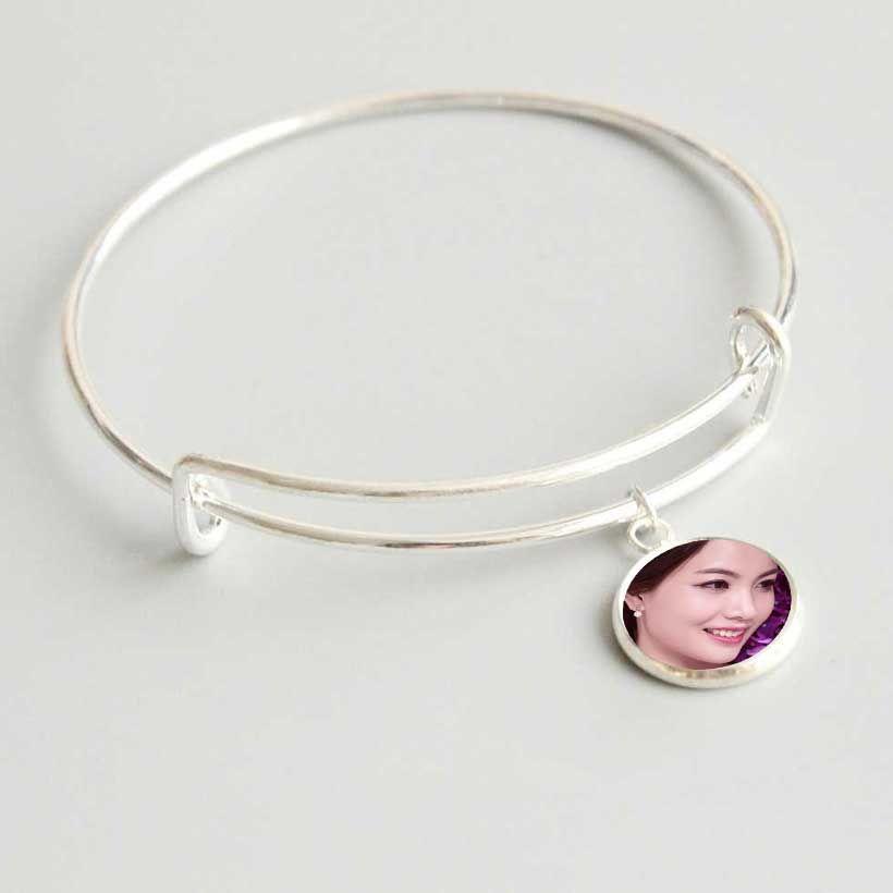 la transferencia de calor en blanco sublimación mujeres brazaletes brazalete de la pulsera de la moda de joyería de consumibles de impresión Nuevo arrvial
