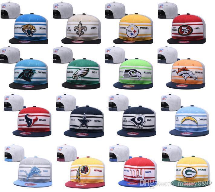 2017 new Football Snapbacks Cheap Sports Team Caps High Quality Cheap Snap Backs women bone men Hats Most Popular Sports Team Flat Hats