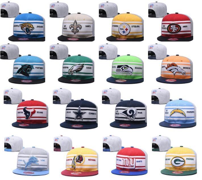 2017 قبعات فريق كرة القدم الجديدة SNAPBACKS رخيصة الرياضية عالية الجودة رخيصة المفاجئة ظهورهم النساء العظام الرجال القبعات الأكثر شعبية رياضة جماعية شقة القبعات
