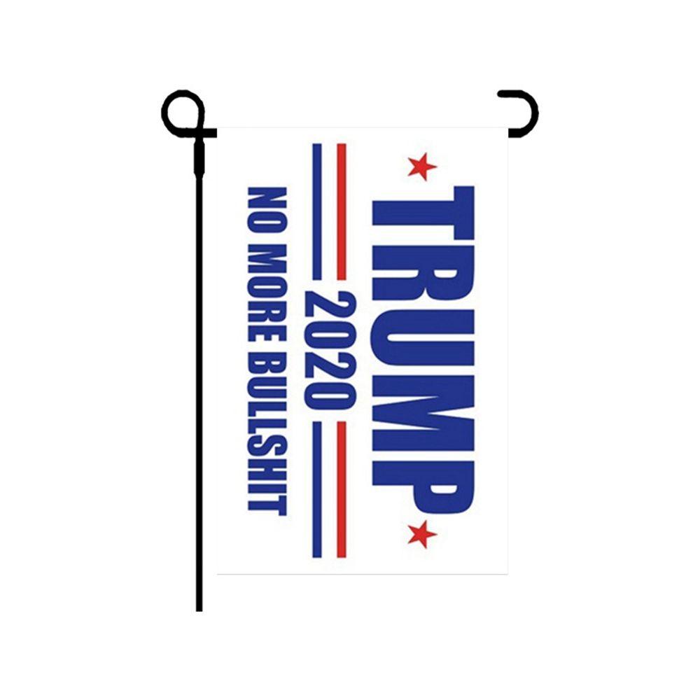 Banner Flags Garden Flag Trump Keep America Great Donald Trump 30*45cm 2020 Election Flags President HHA1262 Crcqw