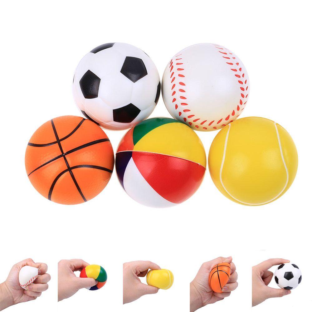 Original Kawaii Cute Slow Rising Lovely Present Ball Baseball Basketball Rising Kids Squeeze Toys Gift Toys Dropshipping