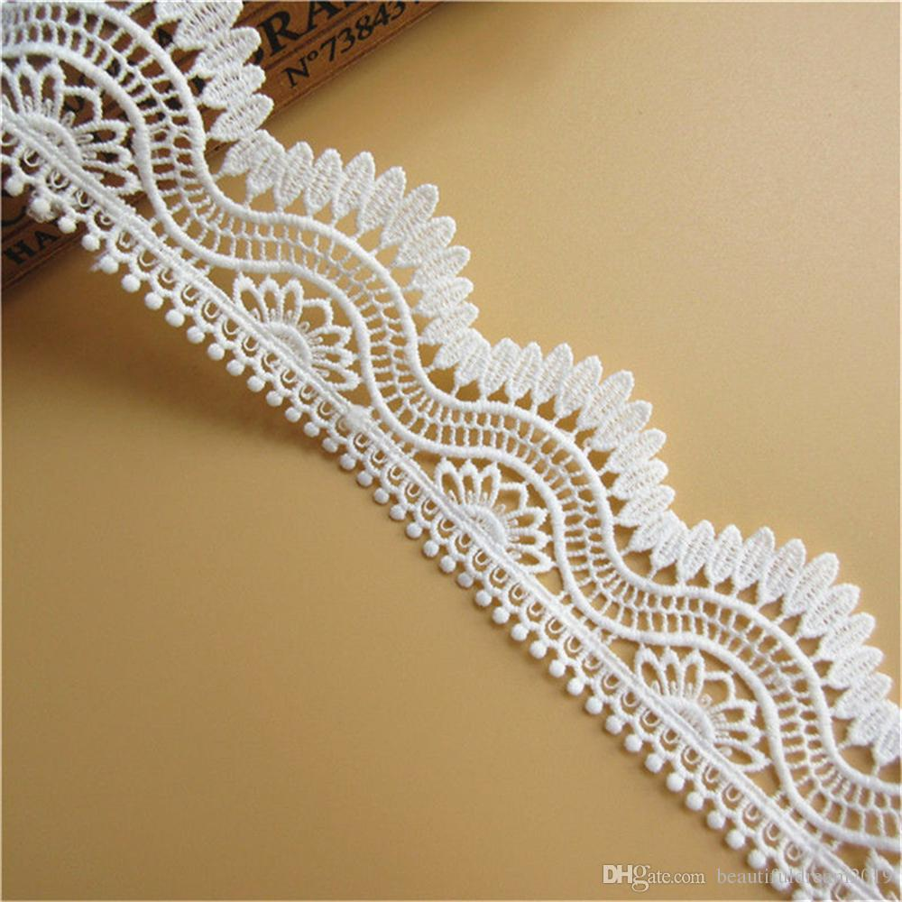 1 inch wide white  lace price for 5 yard