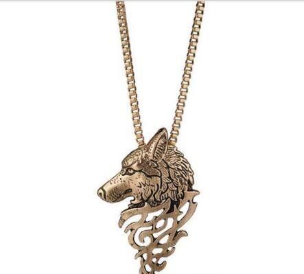 Originalmente la personalidad de moda 24pcs del metal del collar de los animales / lot del suéter W663