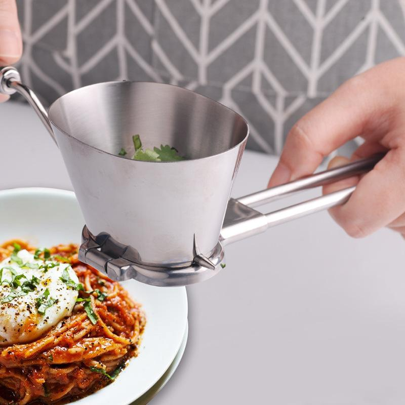 Multifunction Stainless Steel Basil Vanilla Slicer Cutter Shredder Easy To Cut And convenient Kitchen Tool Durable