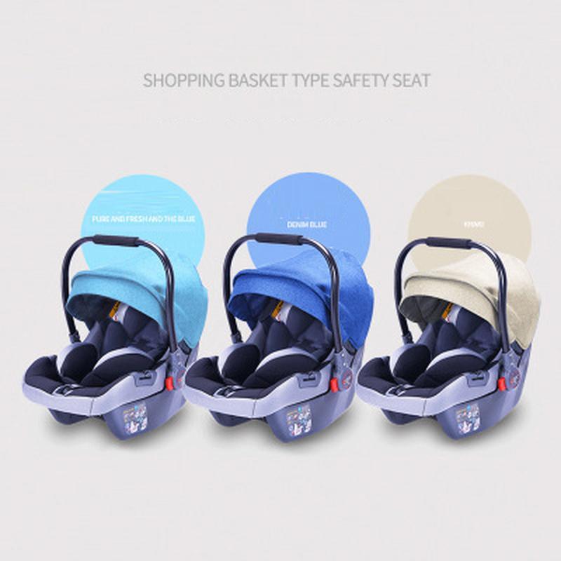 Baby Stroller 3 em 1 com assento de carro alta Paisagem Carrinho de Bebê recém-nascido Car Seat berço de viagem Sistema Stroller e assento de carro