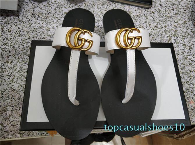 Find Similar 44 Men Women Sandals Designer Shoes Slide Summer Fashion Wide Flat Slippery With Thick Sandals Slipper Flip Flop and box t10