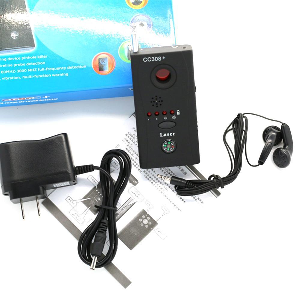 Тип Мини камера GSM устройство Аудио Bug детектор GPS Tracker сигнал лазер объектив RF Tracker Finder EU / US Автоаксессуары