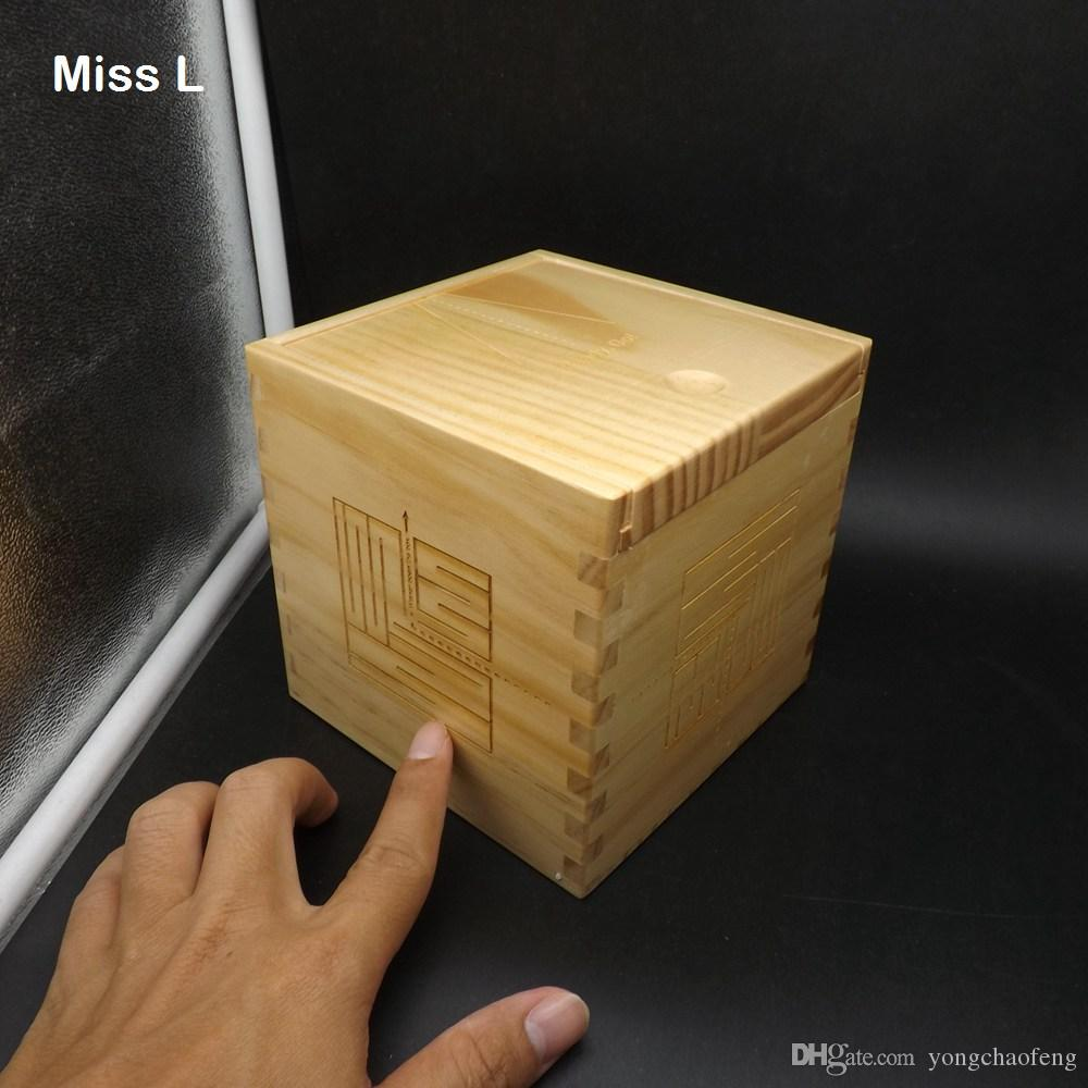 간단한 미로 특징 13cm 멋진 나무 마술 상자 퍼즐 특수 메커니즘 게임 장난감 지능 IQ 두뇌 티저 비밀 박스