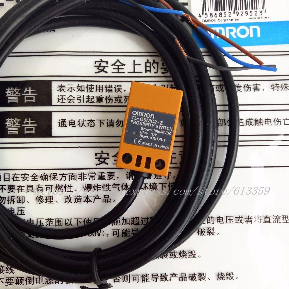 2 ADET TL-Q5MC1-Z TL-Q5MC2-Z TL-Q5MB1-Z NPN / PNP NO / NC Omron Yakınlık Anahtarı Endüktif Sensör 3 Telli DC10-30V 100% Yeni Orijinal