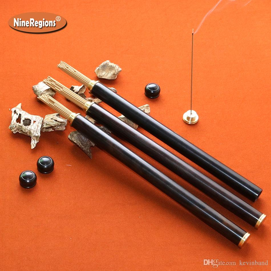 6g 6A GradeGenuine Vietnam Nha Trang oud stick incense ebony tube with burner Natural oud fragrance incienso strong smell