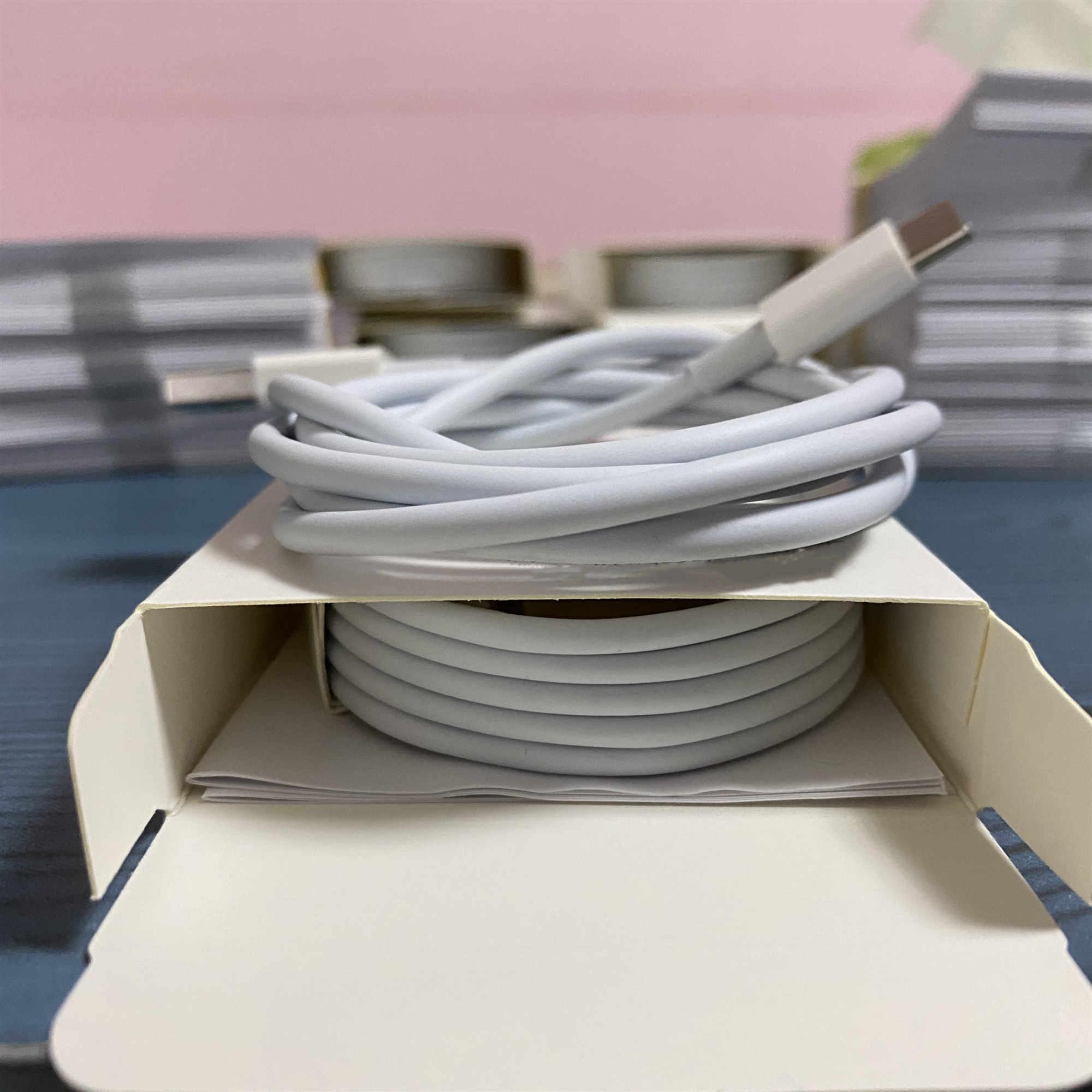 100pcs 6 gerações Original OEM 1m qualidade 3 pés 2M 6 pés USB telefone Data Sync Charge Cable Com NEW2020 pacote de varejo