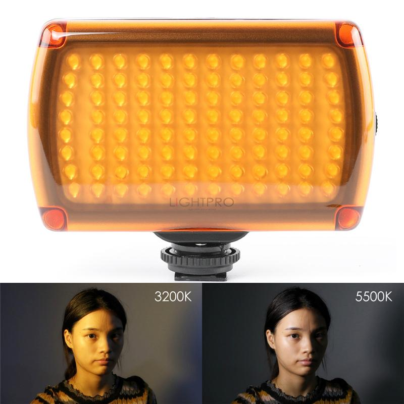 Foto 96 LED 9W Photo Camera Vídeo tiro Hotshoe lâmpada LED Lighting com cabo USB para Canon Nikon Câmeras DSLR